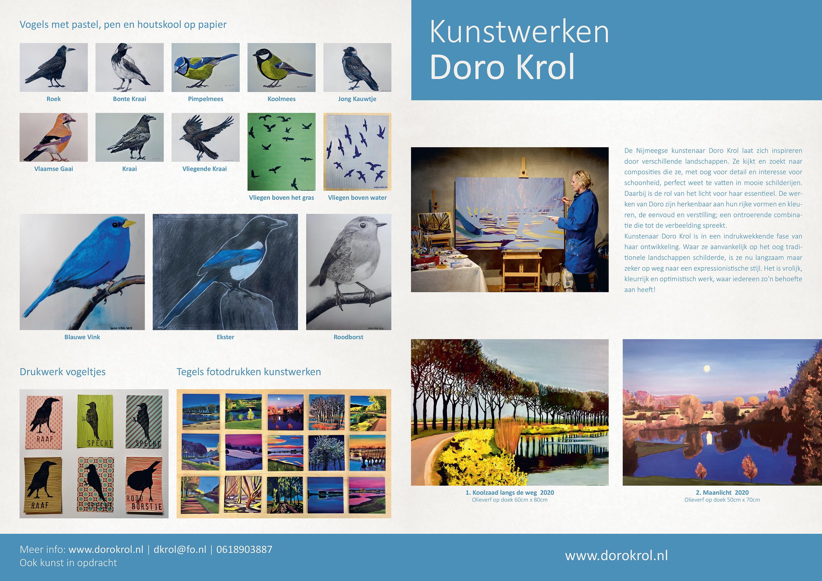 Doro Krol exposeert in het Amphia (01-11-20 tot 01-02-21)