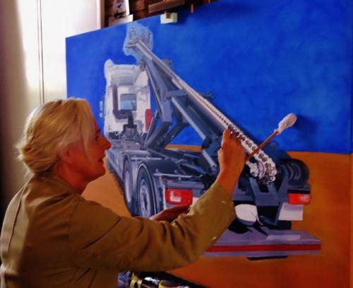 VDL schilderij Doro 2