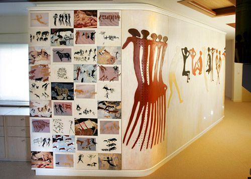 kastenwand Rotstekeningen (2005), 10x2,40m